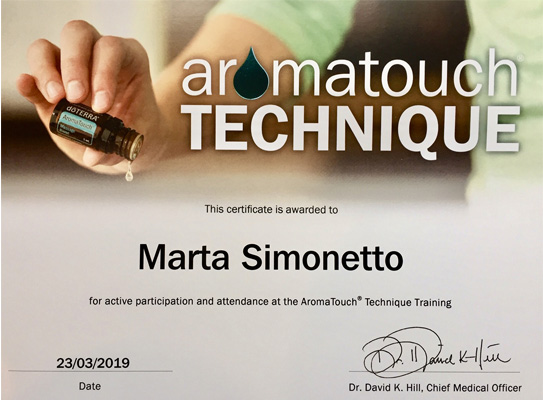 aroma touch-marta simonetto-naturopata mozzate-naturopata busto arsizio-certificato